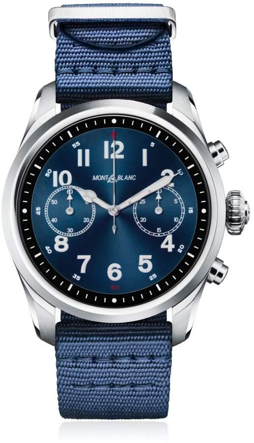 Montblanc Summit 2 Steel & Nylon Smart Watch
