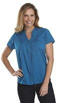 Woolrich Women's Clare Woods Button-Front Short-Sleeve Shirt
