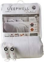 Dreamland Sleepwell Intelliheat Cotton Heated Duvet - Variable 6.5 to 15 Tog