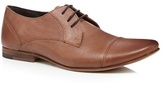 Red Herring Tan Leather Toe Cap Lace Up Shoes