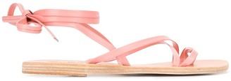 Ancient Greek Sandals Strappy Design Sandals