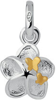 Links of London Sterling Silver Flower & Butterfly Charm