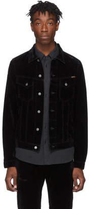 Nudie Jeans Black Velvet Billy Jacket