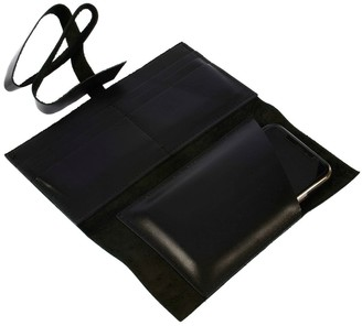 Atelier Hiva Hedera Leather Wallet Black