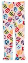 Fendi Toddler's, Little Girl's & Girl's Fur Monster Print Leggings