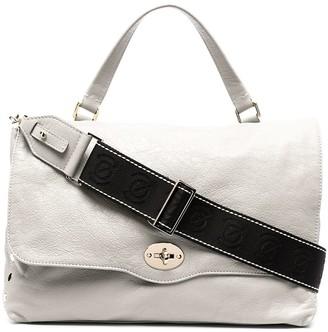 Zanellato Leather Slouch Tote Bag