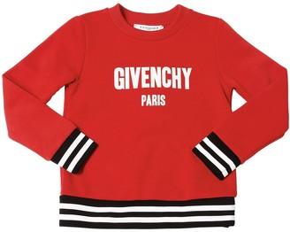 Givenchy Logo Print Cotton Sweatshirt