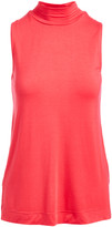 Colour Works by In Cashmere Women's Pullover Sweaters PEONY - Peony Mock Neck Sleeveless Top - Women
