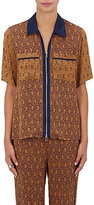 3.1 Phillip Lim Women's Jacquard Short Sleeve Shirt