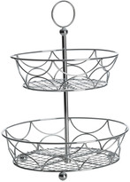 Mikasa Towle® Living Two Tier Chrome Plated Countertop Basket