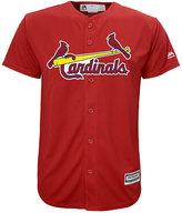 Majestic Kids' St. Louis Cardinals Replica Cool Base Jersey