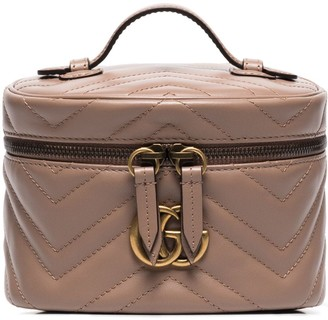 Gucci mini Marmont quilted leather beauty case