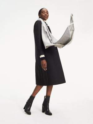 Tommy Hilfiger Essential Long Wool Coat