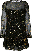 RED Valentino star-print dress - women - Silk/Polyamide - 40
