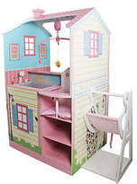 Teamson Kids Nursery Dollhouse with Swing