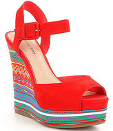 Gianni Bini Tama Ornament Wedges