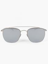 Mykita X Maison Martin Margiela Silver MMESSE 007 Sunglasses
