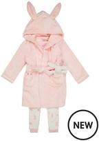 Ted Baker Girls Bunny Pyjamas & Dressing Gown Set