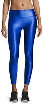Lanston Brady Luster Performance Leggings, Cobalt