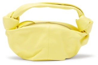 Bottega Veneta Mini Knotted-strap Leather Handbag - Yellow