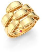 Roberto Coin Retro 18K Yellow Gold Ring