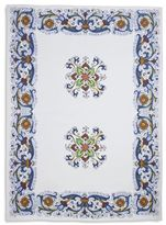 "Sur La Table Deruta-Style Linen Kitchen Towel, 28"" x 20"""