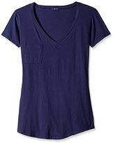 LAmade Women's V-Pocket Short Sleeve Tee