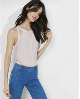 Express cut out shoulder tank