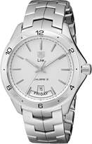 Tag Heuer Men's WAT2011.BA0951 Link Dial Watch