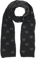 Julia Cocco' Multi Heart Women's Long Scarf