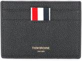 Thom Browne logo cardholder