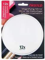 Swissco Suction Cup Mirror, Metallic Color, 5 Inches, 12x