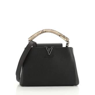 Louis Vuitton Capucines Black Exotic leathers Handbags