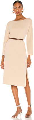 L'Academie Milan Maxi Sweater Dress