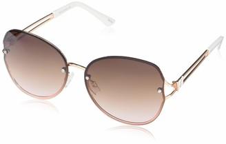 Rocawear Women's Non Polarized Rectangular Sunglasses