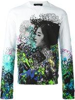 DSQUARED2 graffiti print sweatshirt