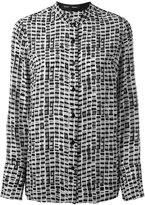 Proenza Schouler printed shirt - women - Silk/Acetate/Viscose - 4