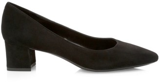 Aquatalia Pasha Suede Pumps