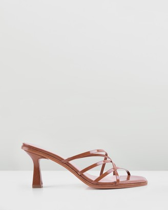 Sol Sana Women's Brown Strappy sandals - Elora Mules - Size One Size, 39 at The Iconic