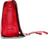 Chloé Crimson Red Pebble Leather Marcie Satchel