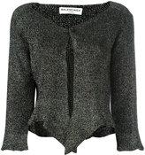 Balenciaga cropped cardigan
