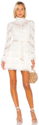 Zimmermann Veneto Perennial Short Dress