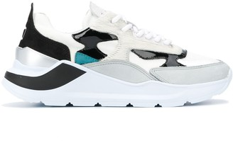 D.A.T.E Fuga panelled chunky sneakers