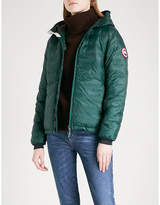 Canada Goose Ladies Green Classic Camp Hooded Quilted Jacket