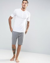 Paul Smith Lounge Shorts In Regular Fit Grey