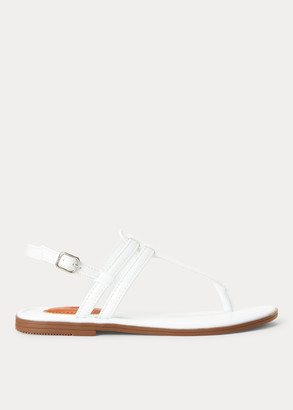 Ralph Lauren Tierney Vegan Leather Sandal
