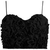 The Naked Laundry Petal Cami Crop Top- Black