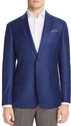 Giorgio Armani Micro-Dot Regular Fit Tailored Jacket