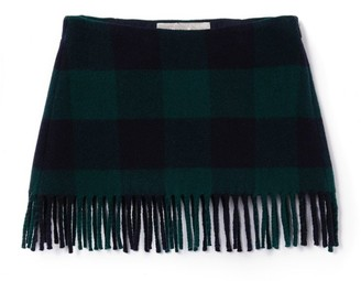 Il Gufo Check Scarf Skirt (3-12 Years)
