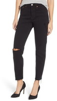 Levi's Wedgie Icon Fit High Waist Ripped Skinny Jeans